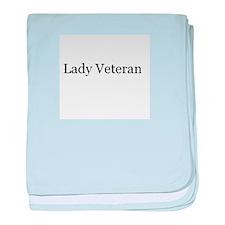 Lady Veteran Design baby blanket