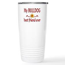 Bulldog Best Friend Travel Coffee Mug
