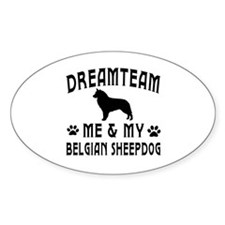 Belgian Sheepdog Dog Designs Decal