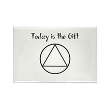 Today is the Gift Rectangle Magnet