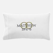 Matthew 19:4-6 Pillow Case