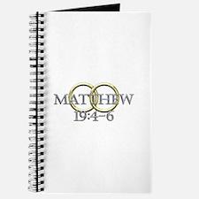 Matthew 19:4-6 Journal