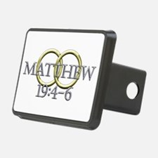Matthew 19:4-6 Hitch Cover