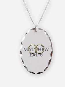Matthew 19:4-6 Necklace