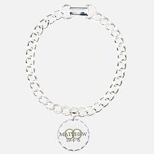 Matthew 19:4-6 Charm Bracelet, One Charm