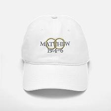 Matthew 19:4-6 Baseball Baseball Cap
