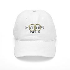 Matthew 19:4-6 Baseball Cap