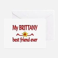 Brittany Best Friend Greeting Card