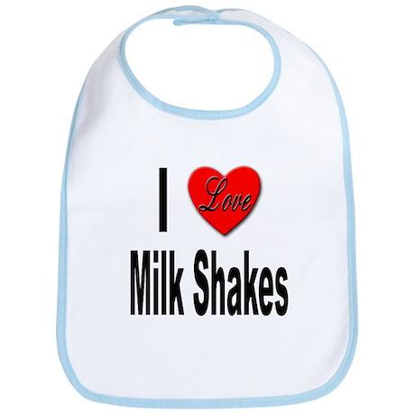 I Love Milk Shakes Bib