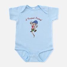 I Pooped Today! -f Infant Bodysuit