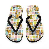Garfield Flip Flops