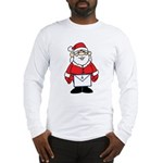 Santa goes formal with his Masonic apron Long Sle