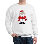 Santa goes formal with his Masonic apron Sweatshi