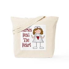 Nurses Heal The Heart Tote Bag