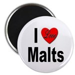 I Love Malts Magnet