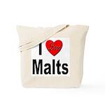 I Love Malts Tote Bag