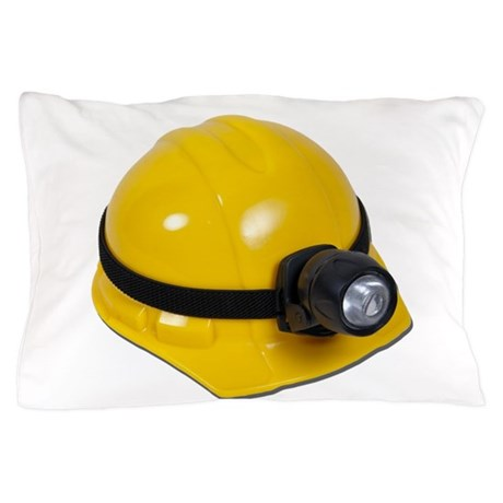 HardHatWithLamp102811.png Pillow Case