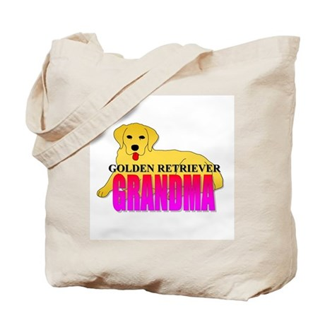 Golden Retriever Grandma Tote Bag