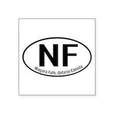 Niagara Falls, Ontario Canada Oval Sticker
