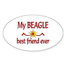 Beagle Best Friend Decal