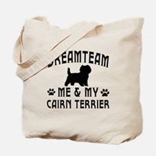Cairn Terrier Dog Designs Tote Bag
