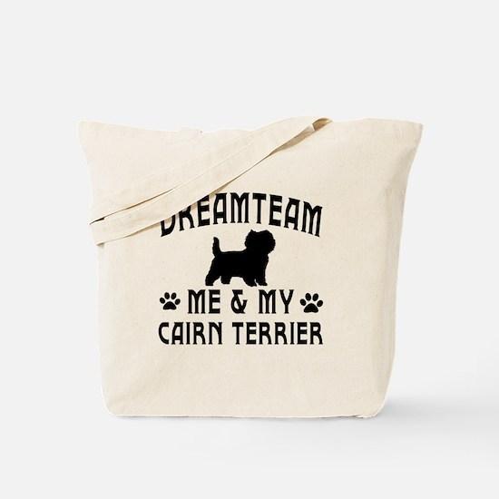 Cairn Terrier Dog Designs Tote Bag