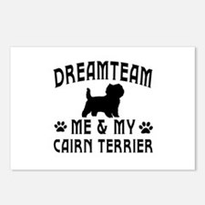 Cairn Terrier Dog Designs Postcards (Package of 8)