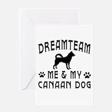 Canaan Dog Designs Greeting Card