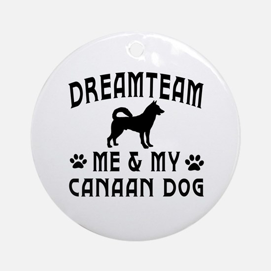 Canaan Dog Designs Ornament (Round)