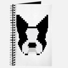 8-Bit Boston Terrier Journal