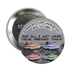 """Cute Camouflage nation 2.25"""" Button"""