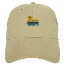 Golden Retriever Grandpa Baseball Cap