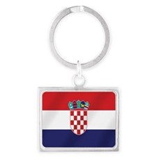 Croatian National Flag Keychains