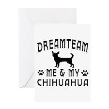 Chihuahua Dog Designs Greeting Card
