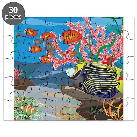 Aquarium reef square Puzzle