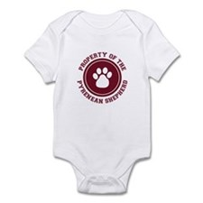 Pyrenean Shepherd Infant Bodysuit