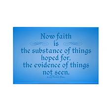Hebrews 11 1 Scripture Rectangle Magnet