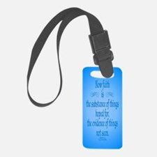 Hebrews 11 1 Scripture Luggage Tag