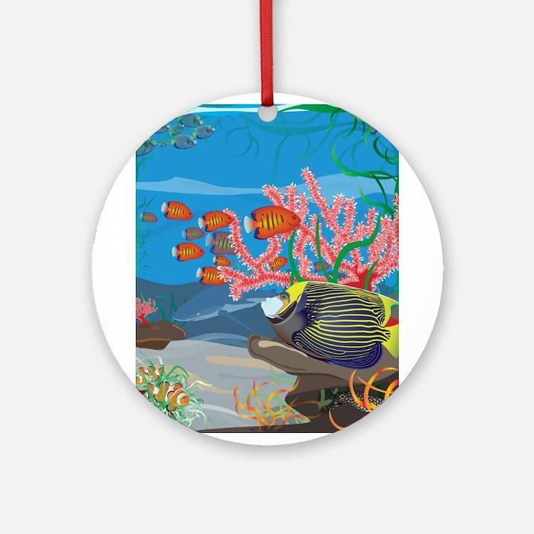 Aquarium reef Ornament (Round)