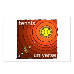 Tennis Universe Postcards (Package of 8)