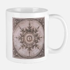 Antique Wind Rose Compass Design Mug