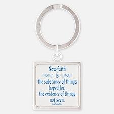 Hebrews 11 1 Scripture Square Keychain