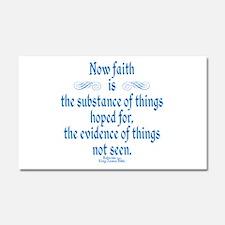 Hebrews 11 1 Scripture Car Magnet 20 x 12