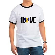 1LOVE BARBADOS T-Shirt