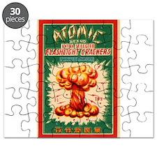 Atomic Bran Chinese Firecracker Label Puzzle
