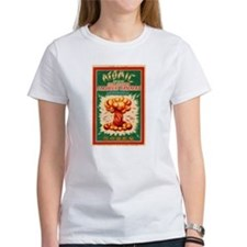 Atomic Bran Chinese Firecracker Label T-Shirt