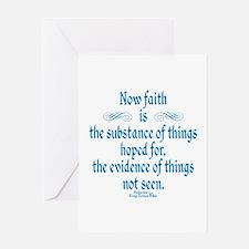 Hebrews 11 1 Scripture Greeting Card