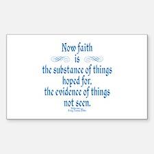 Hebrews 11 1 Scripture Decal