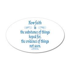 Hebrews 11 1 Scripture Wall Decal