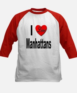 I Love Manhattans (Front) Tee